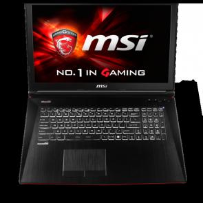"MSI GE72 6QD-019NL 17.3""/i7-6700/8gb/1tb/gtx960/w10"